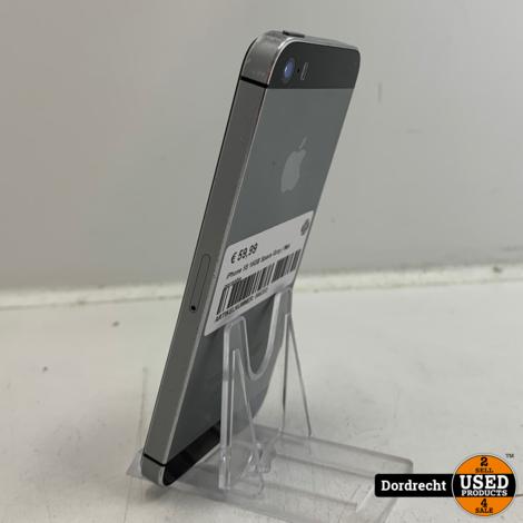 iPhone 5S 16GB Space Gray | Met garantie