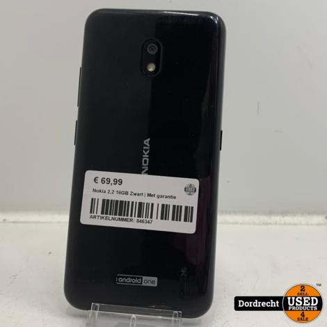 Nokia 2.2 16GB Zwart | Met garantie