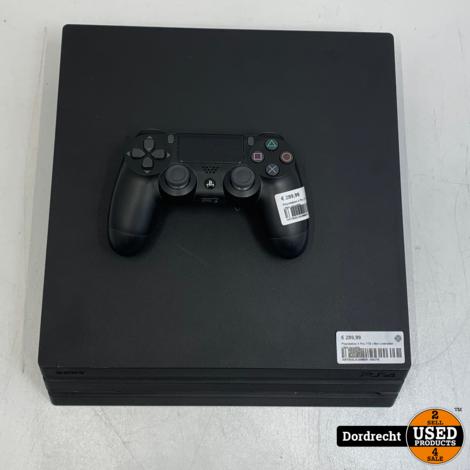Playstation 4 Pro 1TB   Met controller   Met garantie