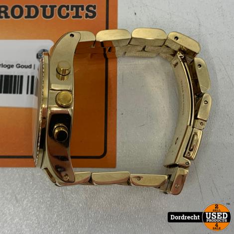 Marc Jacobs MBM3105 Horloge Goud | Kleine maat | Met garantie