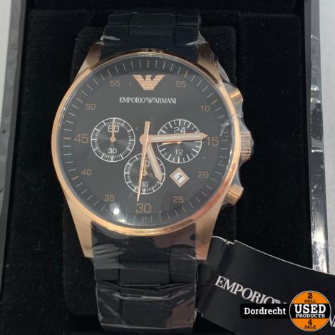 Emporio Armani AR5905 horloge | Nieuw in doos | Met garantie