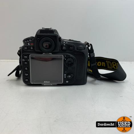 Nikon D800 Body Camera Zwart | Met lader | Met garantie