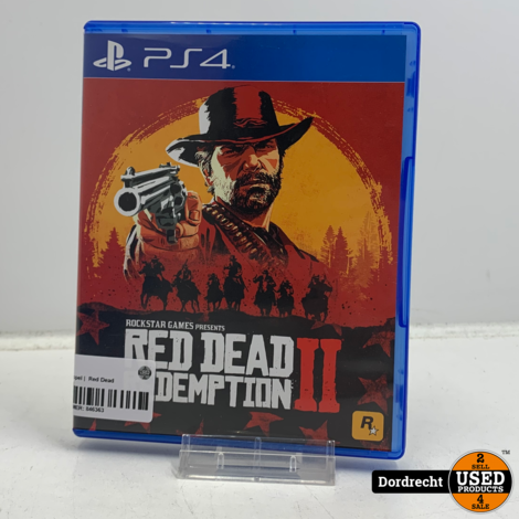 Playstation 4 spel |  Red Dead Redemption II