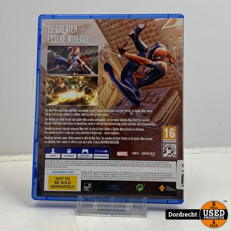 Playstation 4 spel   Marvel's Spider-Man