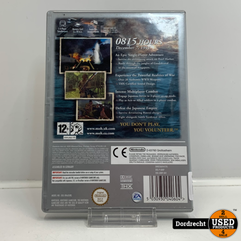 Nintendo Gamecube spel | Medal of honor rising sun