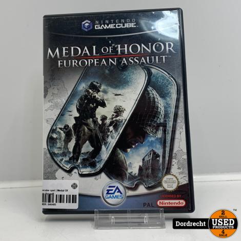 Nintendo Gamecube spel | Medal Of Honor European Assault