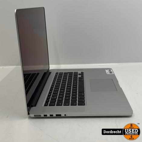 Macbook Pro 2015 15Inch Intel Core i7 256GB SSD 16GB RAM | Met garantie
