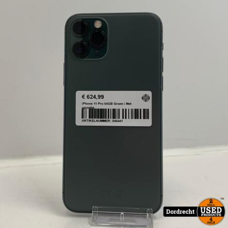 iPhone 11 Pro 64GB Groen | Met garantie