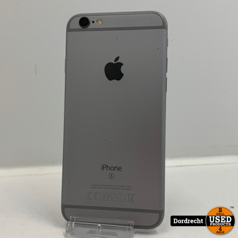iPhone 6S 32GB Space Gray | Nieuwe batterij | Met garantie