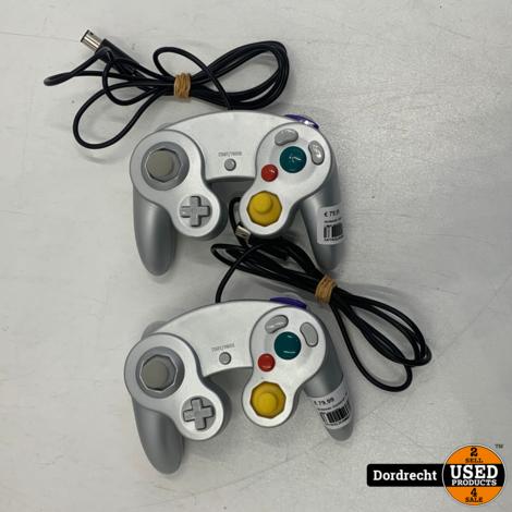 Nintendo GameCube   Met 2 controllers   Met garantie