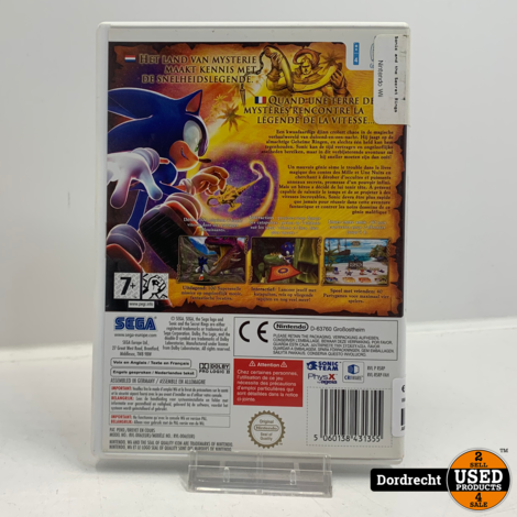 Wii spel |  Sonic and the Secret Rings