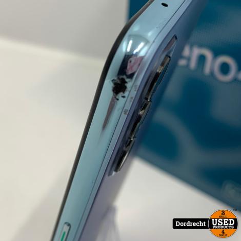 OPPO Reno4 5G 128GB + 8GB Blauw   Dual sim   In doos   Met garantie