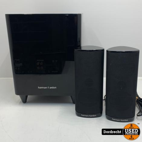 Harman Kardon BDS 300 Systeem Home cinema set | BDS 2 set | Met 2 speakers en Subwoofer | Met garantie