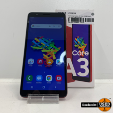 Samsung Galaxy A3 Core 16GB Rood | In doos | Met garantie