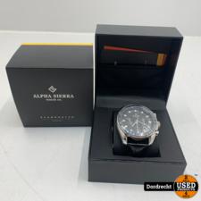 Alpha Sierra Starbuster BSL01 Chrono series horloge | Nieuw in doos | Met garantie