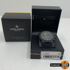 Alpha Sierra Blackhawk UH62YL Limited Edition horloge   Nieuw in doos   Met garantie