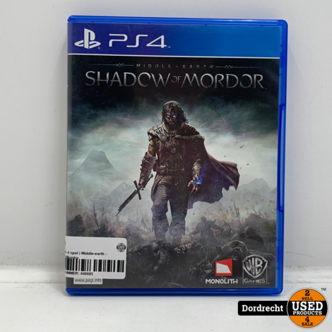 PlayStation 4 spel | Middle-earth - Shadow of Mordor