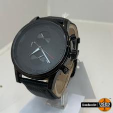 Hugo Boss HB.88.1.14.2194 horloge   Zwart   Nieuw   Met garantie