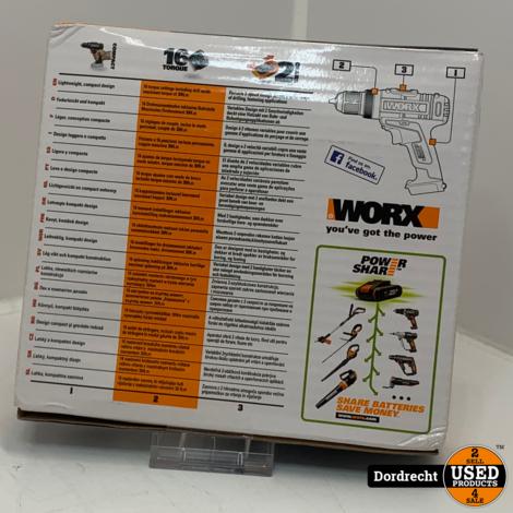Worx WX170.9 Boor-/Schroevendraaier   Met garantie