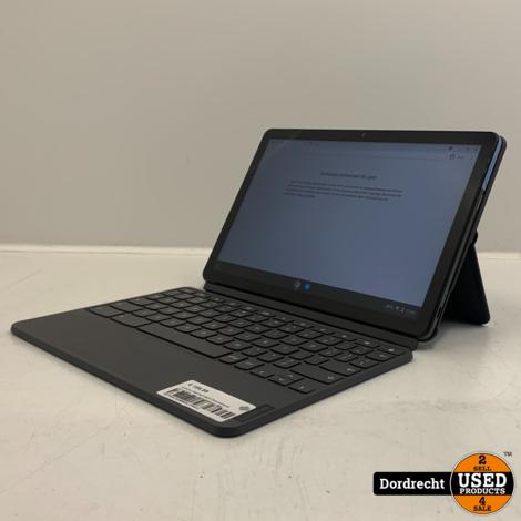 Lenovo IdeaPad Duet Chromebook CT-X636F   Met toetsenbord   Met originele factuur