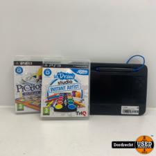 Playstation 3 UDraw gametablet | Met 2 spellen | Met garantie
