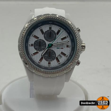 Tutti Milano Horloge TM005 | Wit | 48mm | NIEUW in doos | Batterij leeg | Met garantie