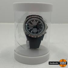 Tutti Milano Horloge TM005 | Zwart | 48mm | NIEUW in doos | Batterij leeg | Met garantie