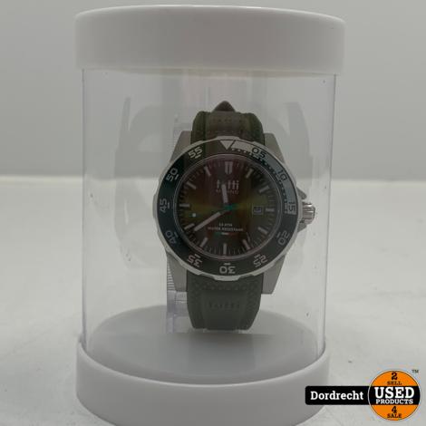 Tutti Milano Horloge TM900 | Leger Groen | 42.5mm | NIEUW in doos | Batterij leeg | Met garantie