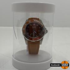 Tutti Milano Horloge TM900 | Bruin | 42.5mm | NIEUW in doos | Batterij leeg | Met garantie