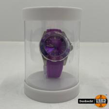 Tutti Milano Horloge TM900 | Paars | 42.5mm | NIEUW in doos | Batterij leeg | Met garantie