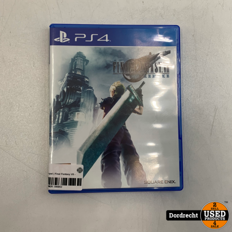 Playstation 4 spel | Final Fantasy VII - Remake