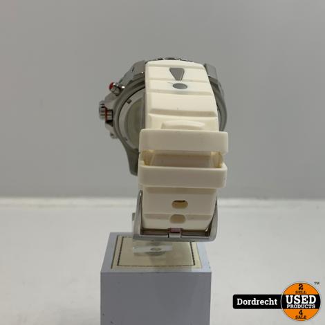 Kyboe KYC-006-55 XXL horloge Rood/Wit   Met garantie