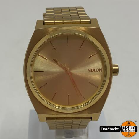 Nixon Minimal The time teller Horloge | Goud | Met garantie