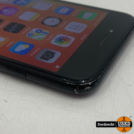 iPhone 7 128GB Zwart | Accu 100% | Gebruikt | Met garantie