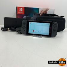 Nintendo Switch 2018 Grijs | Compleet in doos | Met hoes | Met garantie