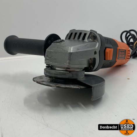 Black en Decker BEG210 Haakse slijper | Op snoer | 900w 230v | Met garantie