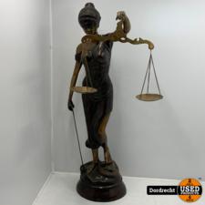 Vrouwe Justitia Bronzen Beeld | 68cm hoog