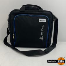 Playstation 4 tas   Zwart met blauw