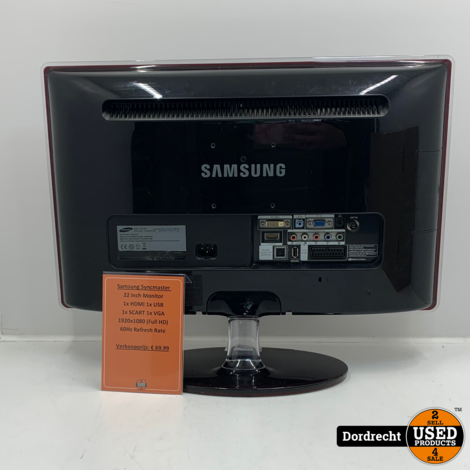 Samsung Syncmaster P2270HD Monitor | Met garantie