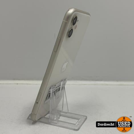 iPhone 11 128GB Wit | Gebruikte staat | Met garantie