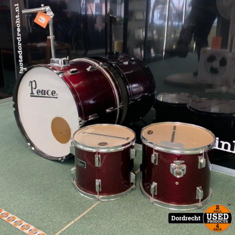 Peace Drum / Drumstel   3 stuks   Niet compleet   Met garantie