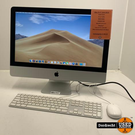 iMac 2013 | Intel Core i5 256GB SSD 8GB RAM Intel Iris Pro 1536 MB | Met garantie