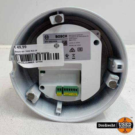 Bosch ntv 3502 f03l IP beveiligingscamera | Met garantie