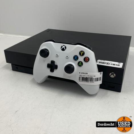 XBOX One X 1TB Zwart | Met controller | Met garantie