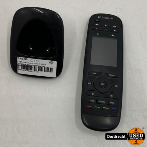 Logitech Harmony Touch N-R0006 universele afstandbediening | Met lader | Met garantie