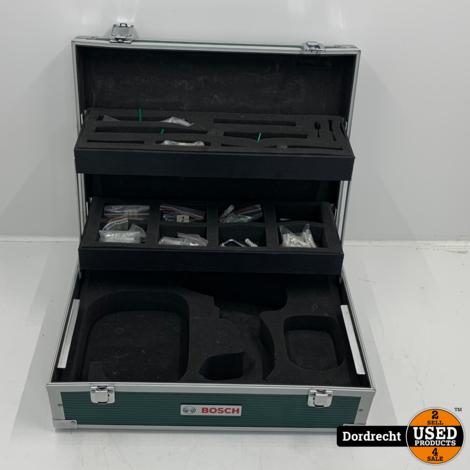 Bosch PSR 14.4 LI schroef- en boormachine   2 accu's + lader   In kist   Met garantie