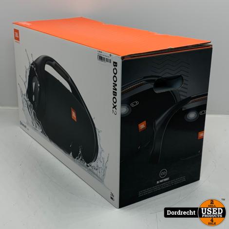 JBL Boombox 2 zwart   Nieuw in doos   Met garantie