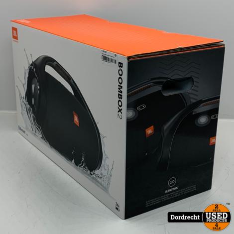 JBL Boombox 2 zwart | Nieuw in doos | Met garantie