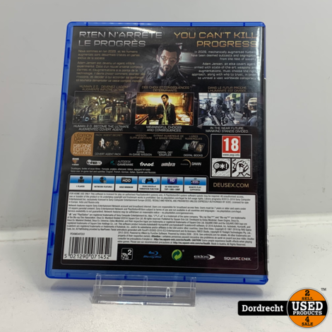 Playstation 4 spel | Deus Ex Mankind Divided Day One Edition