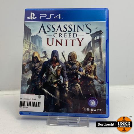 Playstation 4 spel   Assassin's Creed Unity
